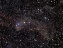 Nebulosa de LBN 437 Fotografía de archivo