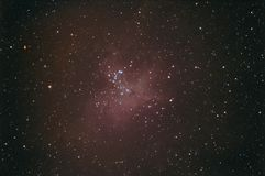 Nebulosa del águila M16 Imagen de archivo