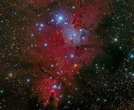 Nebulosa del cono Fotografía de archivo libre de regalías