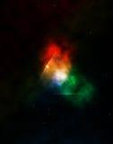 Nebulosa del espacio de la fantasía Imagenes de archivo