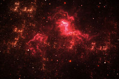 Nebulosa del espacio profundo Fotos de archivo libres de regalías