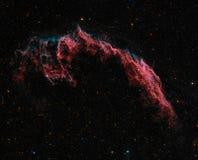 Nebulosa del este del velo Imágenes de archivo libres de regalías