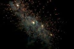 Nebulosa del fuoco d'artificio Fotografia Stock Libera da Diritti