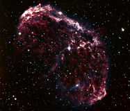 Nebulosa della medusa, NGC 6888 Immagine Stock Libera da Diritti