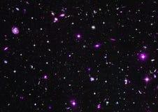 Nebulosa delle stelle, della polvere e del gas in una galassia lontana immagine stock
