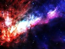 Nebulosa dello spazio Fotografie Stock Libere da Diritti