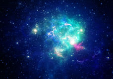 Nebulosa dello spazio profondo Immagini Stock Libere da Diritti