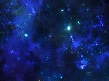 Nebulosa dello spazio profondo Fotografie Stock