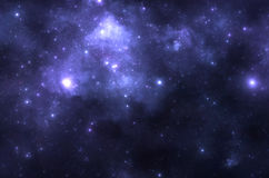 Nebulosa dello spazio profondo Immagine Stock Libera da Diritti