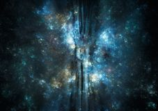 Nebulosa dello spazio profondo Fotografia Stock