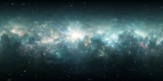Nebulosa dello spazio profondo Nuvola interstellare gigante con le stelle Royalty Illustrazione gratis