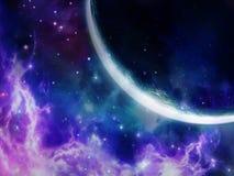 Nebulosa dentellare Fotografie Stock Libere da Diritti