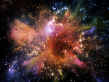 Nebulosa di granchio virtuale Immagini Stock Libere da Diritti