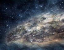 Nebulosa do espaço Foto de Stock