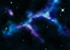 Nebulosa do espaço Fotos de Stock