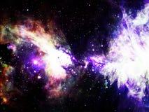 Nebulosa do espaço Imagem de Stock