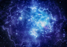 Nebulosa do espaço profundo Fotografia de Stock Royalty Free