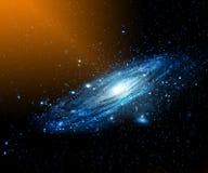 Nebulosa e galáxias no espaço Elementos desta imagem fornecidos pela NASA fotos de stock
