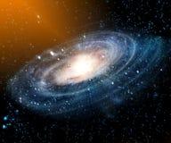Nebulosa e galáxias no espaço Elementos desta imagem fornecidos pela NASA fotografia de stock