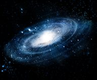Nebulosa e galáxias no espaço Elementos desta imagem fornecidos pela NASA fotografia de stock royalty free
