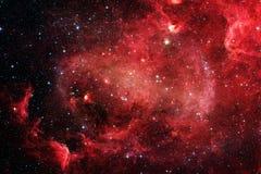Nebulosa e galáxias no espaço Elementos desta imagem fornecidos pela NASA foto de stock