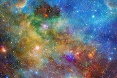 Nebulosa e gal?xias no espa?o Elementos desta imagem fornecidos pela NASA ilustração do vetor