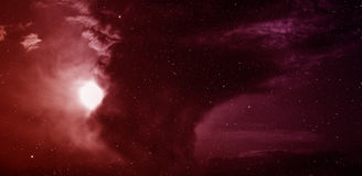 Nebulosa en espacio profundo Fotos de archivo libres de regalías