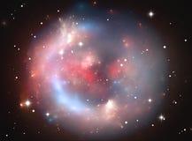 Nebulosa esférica do espaço Foto de Stock