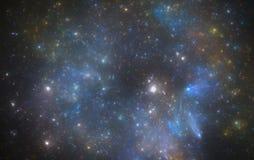 Nebulosa för djupt utrymme royaltyfria bilder