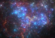 Nebulosa för djupt utrymme royaltyfri foto