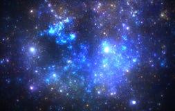 Nebulosa för djupt utrymme arkivbild