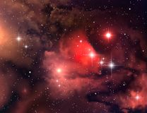 Nebulosa (fondo abstracto) Imagen de archivo libre de regalías