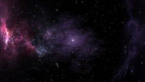 Nebulosa globular después de la explosión de la supernova en espacio profundo almacen de metraje de vídeo