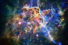 Nebulosa i härligt ändlöst universum Enormt för tapet och tryck royaltyfri illustrationer