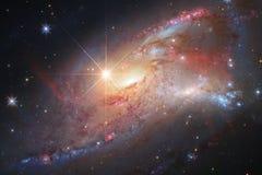 Nebulosa i härligt ändlöst universum Enormt för tapet och tryck vektor illustrationer