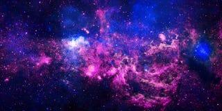 Nebulosa llameante de la estrella stock de ilustración