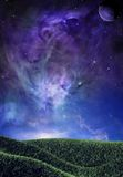 Nebulosa mágica Foto de archivo libre de regalías