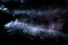 Nebulosa nello spazio fotografia stock libera da diritti
