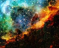 Nebulosa nello spazio profondo Elementi di questa immagine ammobiliati dalla NASA fotografie stock
