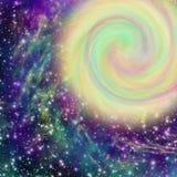 Nebulosa no espaço imagem de stock