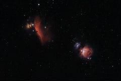 Nebulosa no espaço profundo imagens de stock royalty free
