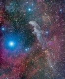 Nebulosa principal de la bruja Imagen de archivo