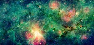 Nebulosa scura M17 SWex e M17 della nuvola Fotografia Stock Libera da Diritti