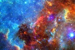 Nebulosa, stelle e galassia nello spazio profondo Elementi di questa immagine ammobiliati dalla NASA fotografia stock
