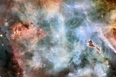 Nebulosa uma nuvem interestelar da imagem do espaço da poeira de estrela Elementos desta imagem fornecidos pela NASA foto de stock royalty free