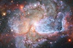 Nebulosa una nuvola interstellare dell'immagine dello spazio cosmico della polvere di stella illustrazione di stock