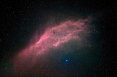 Nebulosa y estrellas Imagen de archivo libre de regalías