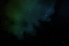 Nebulosa y estrellas Fotografía de archivo