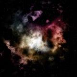 Nebulosabakgrund Arkivbilder
