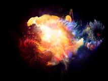 Nebulosas del diseño conceptual libre illustration